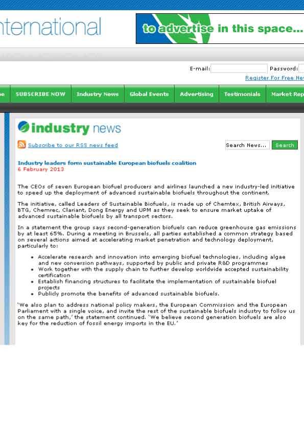 NewsBiofuelsInternational