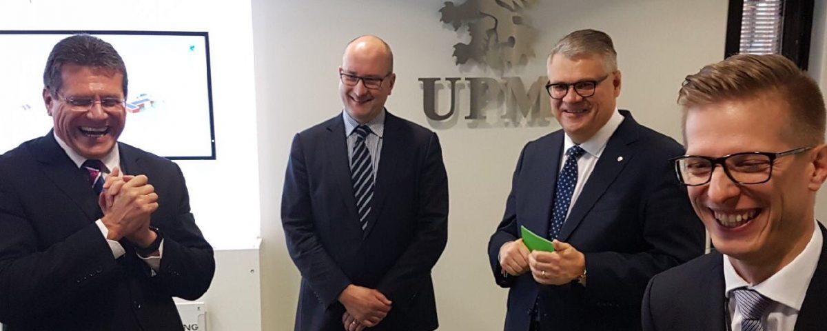 EC_Maros Šefcovic visits UPM Kaukas