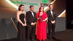UPM Biofuels wins_Bioenergy Industry Leadership award in the 2017 Platts Global Energy Awards